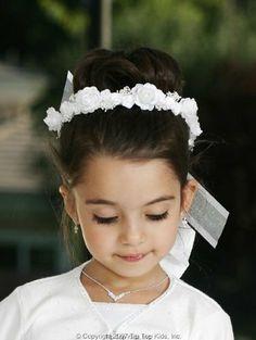 Fist Communion Veil - White Wreath with Ribbons for First Communion, http://www.amazon.com/dp/B00IO01N8Q/ref=cm_sw_r_pi_awdm_MSlmtb1453E52