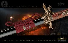 Sword of the God of Fire by Marto of Toledo Spain | Bronze 370.2
