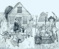 TINY HOUSE — Rebecca Green