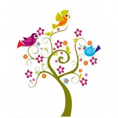 bn3i GmbH Bild Kirti Jaiswal - Baby birds tree | design3000.de