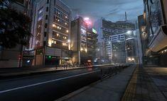 Um desenvolvedor de games brasileiro imaginou a capital paulista em algum lugar entre Neuromancer e Blade Runner.