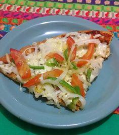 Deliciosa pizza low carb para quem quer emagrecer