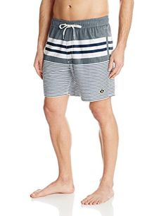 54a1721443 Canoing Sperry Top-Sider Men's Ship Shape Volley Swim Trunk, Gunmetal,  Large <3 This is an Amazon Associate's Pin. Click the VISIT button to view  the ...