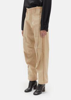 2b52e99afac Exposed Dart Denim Trousers - W 26   Beige