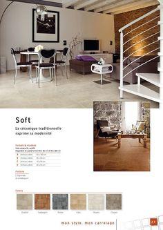 carrelage grand format en gr s maill rectifi pour pi ce vivre s rie pierre de lune. Black Bedroom Furniture Sets. Home Design Ideas