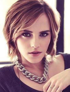 Trendy Short Hairstyles 2013-2014: Celebrity Haircuts Emma Watson