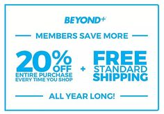 Get 20% Off Sitewide + Free Shipping With Bed Bath and Beyond Members Latest Bed, Bath And Beyond Coupon, 20 Off, Saving Money, Coding, Free Shipping, Save My Money, Money Savers, Programming