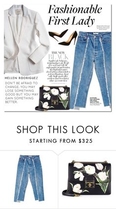 """""""PaGe 10/02"""" by lali22 ❤ liked on Polyvore featuring BONUM, Dolce&Gabbana and Christian Louboutin"""