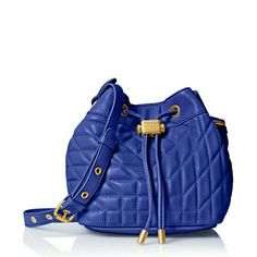 Sale!🎉HP 3/7🎉Badgley Mischka Clarissa Bucket Bag Authentic BM bag. I do not sell fakes, so don't ask. I have another BM bagin ny closet that I am selling. Purchased from an authorized retailer. Sold out in this color! Brand new, carried once for 2 hours. Blue is a stand out color. Price reduced to lowest. Badgley Mischka Bags