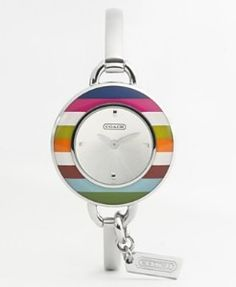 Coach Watch, Heritage Lines collection♡♥♡♥