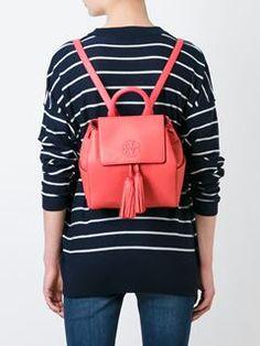 Tory Burch tassel detail backpack