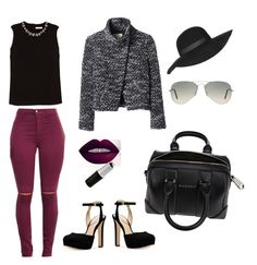 """""""work chic"""" by dalma-pothorszki ❤ liked on Polyvore featuring Erdem, Michael Kors, Rebecca Taylor, Givenchy, Topshop and Ray-Ban"""