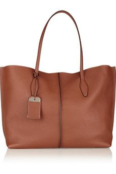 Tod's Shopping medium leather tote | NET-A-PORTER