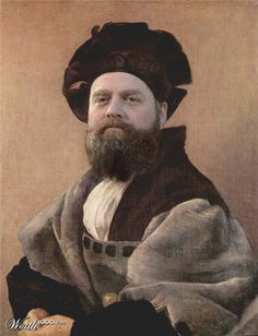 Modern Renaissance 18 - Worth1000 Contests- Zach Galifinakis