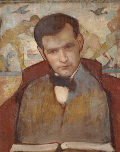 Portrait of James Michie by Anne Redpath (Scottish 1895–1965)....the artist's husband... an architect....