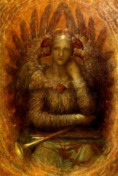 1886 George Frederick Watts (English, 1817-1904) ~ 'The Dweller Within'