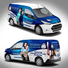 7f3988fa1d1a36 Orthodontic Vehicle Wrap by J.Chaushev  Van Signage
