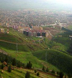 Slemani city   Kurdistan ❤️☁️☀️☁️