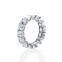 Cushion-Cut Eternity Band...goes perfectly with my engagement ring! :)
