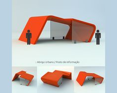 information point design project for train station - by silvanuno.com