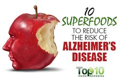 10 Superfoods to Reduce the Risk of Alzheimer's Disease  http://tracking.feedpress.it/link/6848/5048022