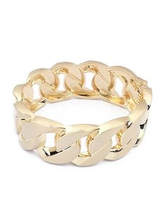Solid Color Brief Style Metal Stylish Design Bracelet & Jewelry - at Jollychic