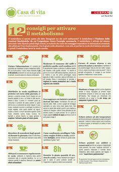 12 consigli per attivare il metabolismo