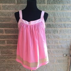 """Pretty pink tank My dress forms measurements are: bust 34"""", waist 26"""", hips 35""""  Size 6/8 """"medium"""" - light wear no tears or stains MICHAEL Michael Kors Tops Tank Tops"""