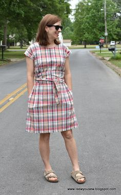 Madras Liesl + Co Terrace Dress