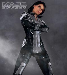 ME3 Ashley Williams Officer's Uniform