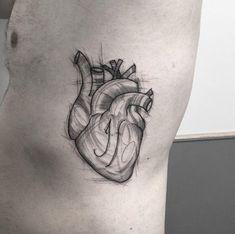 Anatomical heart by Sandra Cunha