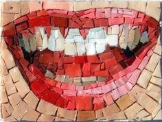 big smile Mosaic by Andjelka Radojevic