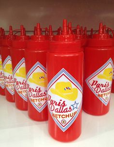 Le ketchup Paris-Dallas, du nom de la dernière collection Chanel des Métiers d'Art
