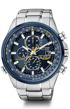 ACQUIRED! Citizen Eco-Drive Perpetual Chrono A-T AT4004-52E Atomic Timekeeping Citizen Watch #scofield #citizens