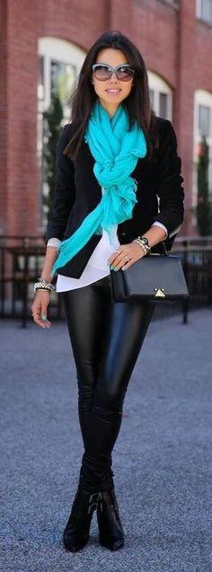 Pantalón de piel / leather