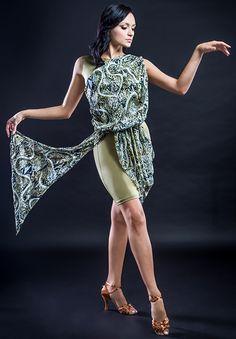 Santoria Leica Dress DR10014| Dancesport Fashion @ DanceShopper.com