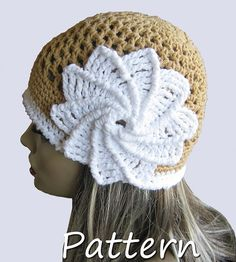 A CROCHET version of the very popular Indian Summer hat!