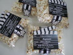 Dom e Art: Convite para festa com tema Cinema!