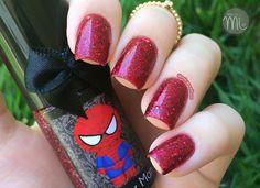 Esmaltes da Kelly - Spiderman