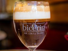 "In the Turin's dialect, it means ""small glass"": the bicerin is Turin's typical beverage, whose recipe has been handed down since 1700."