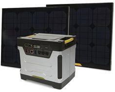 Solar powered genera