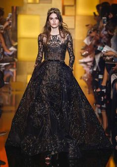 Fall 2015 couture gowns fit for princess and queens: Elie Saab