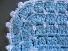 Unique Stitch Baby Blanket