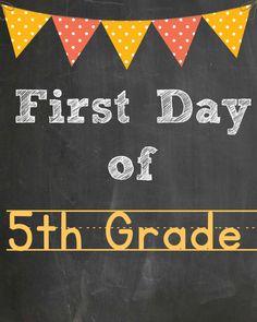 5th grade free printable @goldenstatemom
