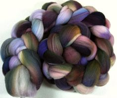 Mourning Dove 2 Merino Wool Top for spinning and by yarnwench, $17.00