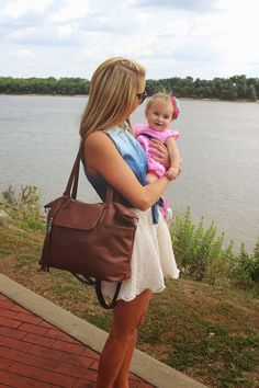 This diaper bag converts into a backpack!  Lily Jade Designer Diaper Bags  Confetti Babe