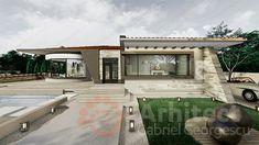 Casa parter 29 | Proiecte de case personalizate | Arhitect Gabriel Georgescu & Echipa Design Case, House Design, Patio, Outdoor Decor, Houses, Home Decor, Modern Townhouse, Homes, Decoration Home