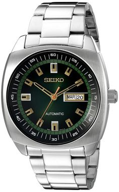 € 165 Seiko Recraft Series Automatic Watch with 43.5mm Case and a Stainless Steel Bracelet SNKM97