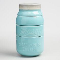Cute idea for Farmhouse kitchen - Mason Jar Measuring Cups #ad