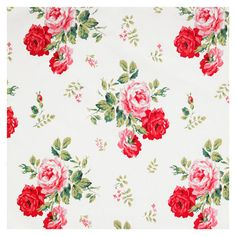 Also love catch kidsons antique cotton rose but would it work as a wallpaper?? X